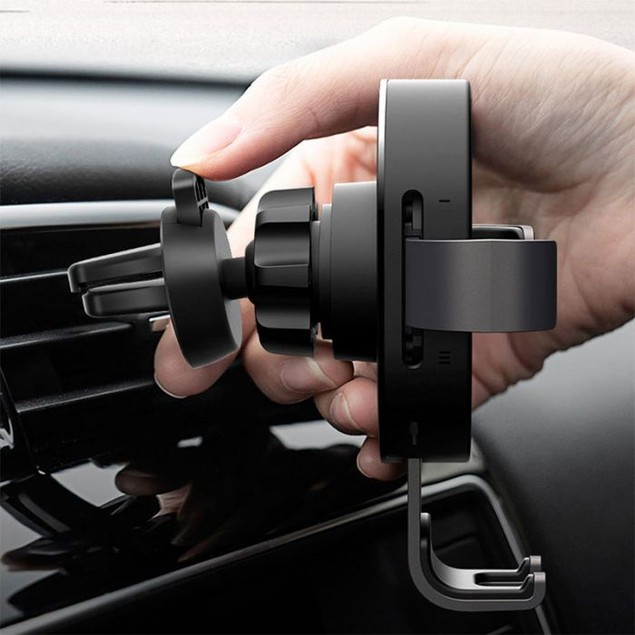 Fast Wireless Car Charger & Mount for iPhone, Samsung and all Qi Devices