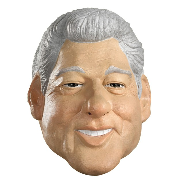 Bill Clinton Mask Vinyl President Of The United States Adult Full Overhead