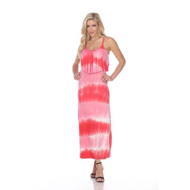 Kalea Tie Dye Overlay Maxi Dress - 6 Colors