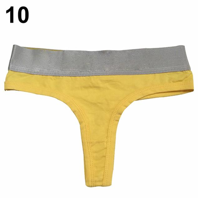 Women Fashion Sexy Cotton Soft Thong