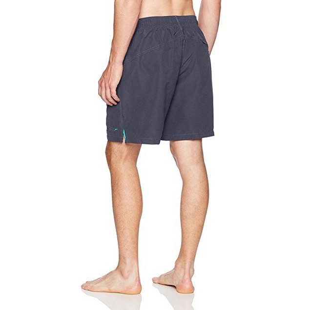 Speedo Men's Solid Rally Volley 19 Inch Workout & Swim Trunks,Large