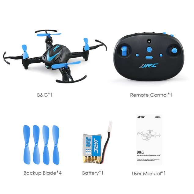 Mini JJRC H48 Drone 6 Axis 2.4G RC Micro Quadcopter Remote Control For Kid