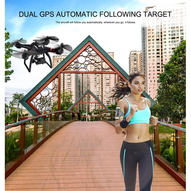Bayang Drone RC Quadcopter 1080P Camera GPS Data Transmission Fixed Height