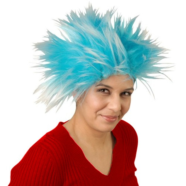 Blue Thing Wig