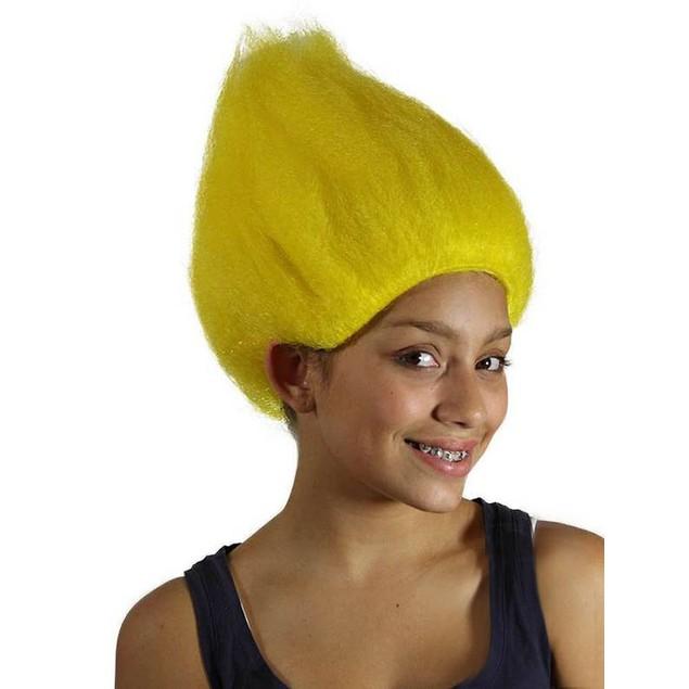 Yellow Troll Wig