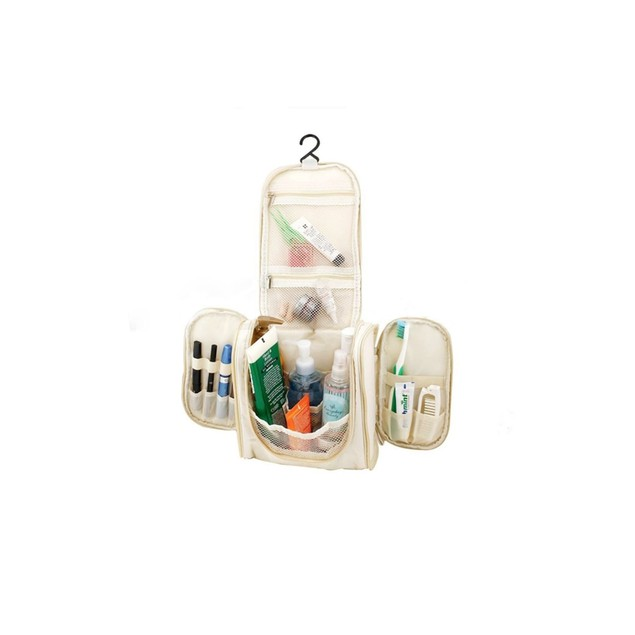 Hanging Travel Toiletry Bags - 4 Colors