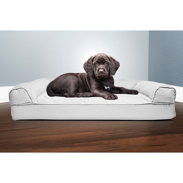 FurHaven Quilted Orthopedic Sofa Pet Bed