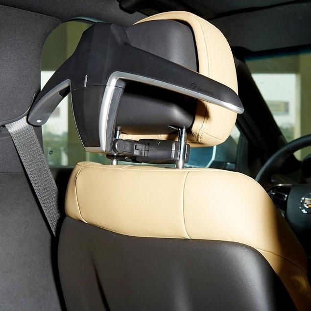 Zone Tech Car Headrest Hanger Travel Foldable Bags Clothes Jacket Suit