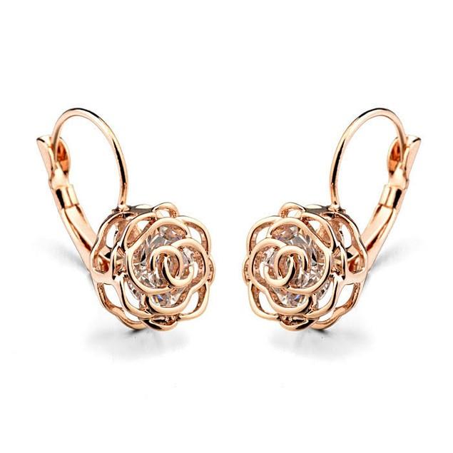 Rose Earrings