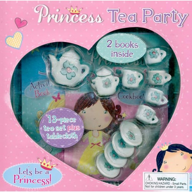 Princess Tea Party Book, Kids Books by Sellers Publishing