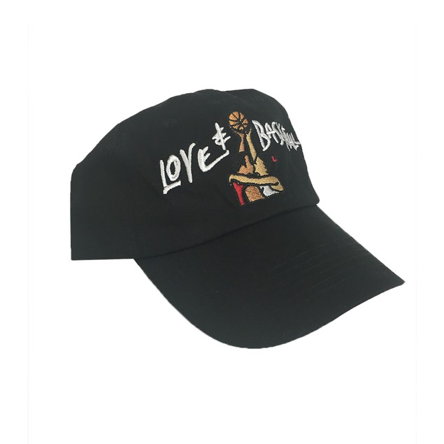 Love & Basketball Black Hat Baseball Cap Buckle Dad And Movie Costume