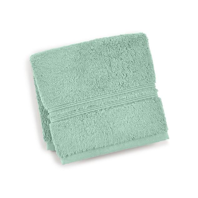"Hotel Collection Turkish 13"" (L) x 13"" (W), Square Washcloth Bedding, Vapor"
