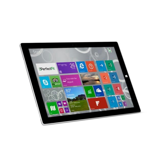 "Microsoft Tablet Intel Core i5-4300U X2 1.9GHz 12"",Silver (Certified Refur"