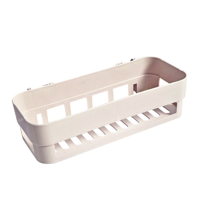 Plastic Suction Cup Corner Storage Rack Shelf