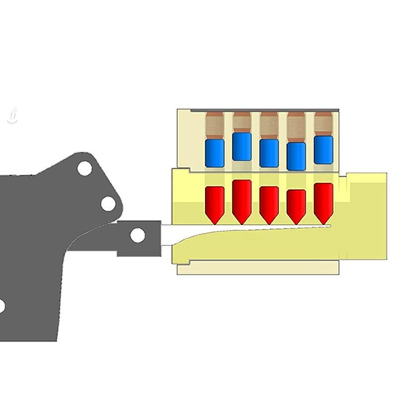 Lock Pick Manual Unlock Gun Locksmith Tool Door Lock Opener
