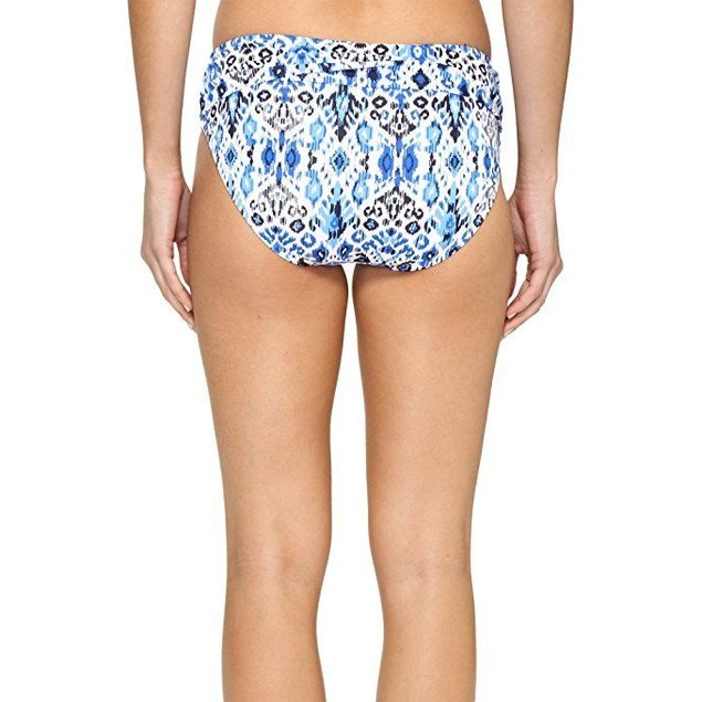 Tommy Bahama Women's Ikat High-Waist Sash Bikini Bottom SZ: L