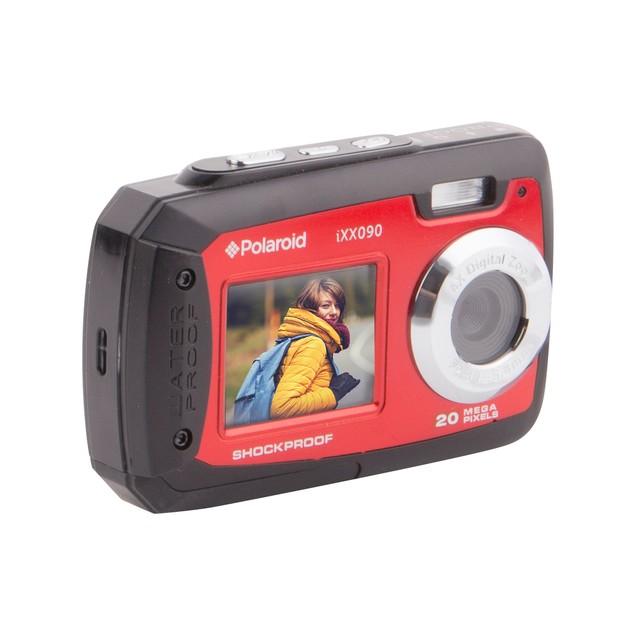 Polaroid IXX090 Waterproof Digital Camera with Front Screen