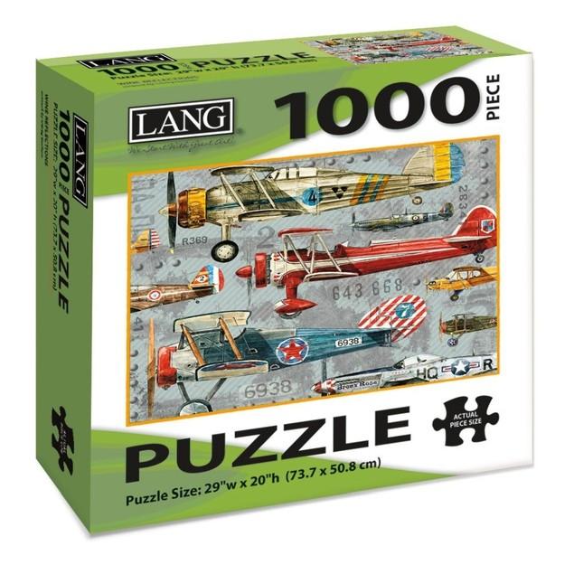 Planes 1000 Piece Puzzle, 1000 Piece Puzzle by Lang Companies