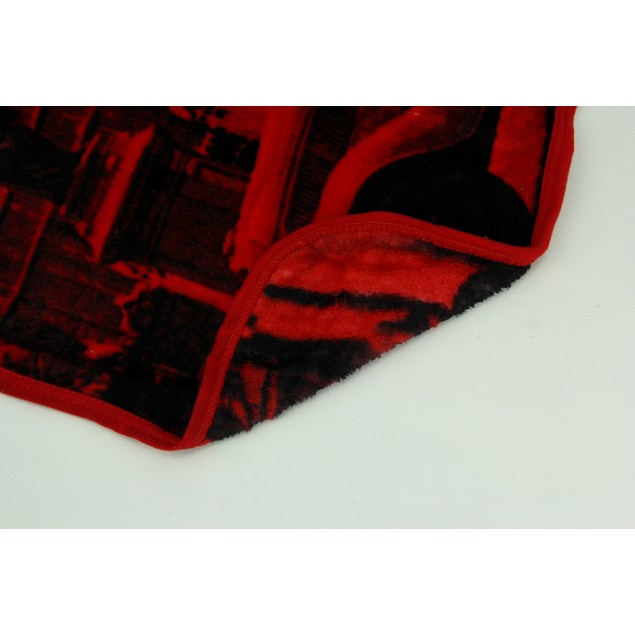 Coca-Cola University Red And White Micro Raschel Throw Blankets