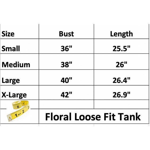 Floral Loose Fit Tank