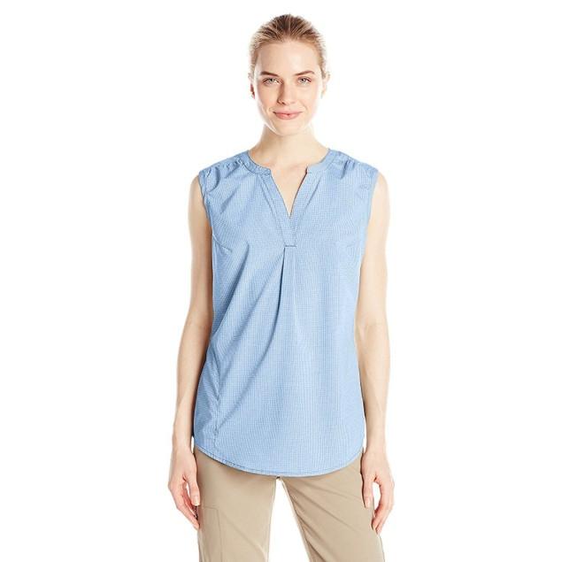 Royal Robbins Women's Diablo Tank Shirt, Light Lapis, SIZE MEDIUM