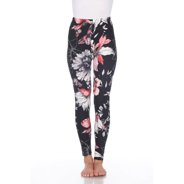 Printed Leggings - 6 Prints - Extended Sizes