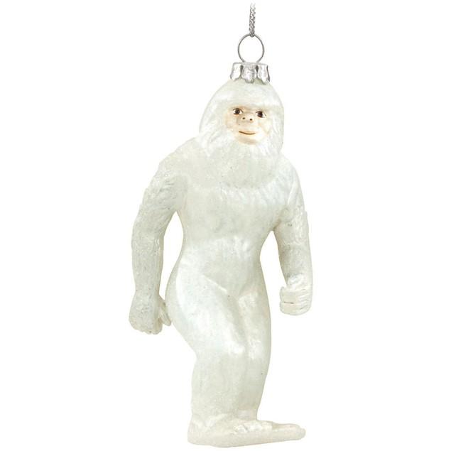 Abominable Snowman Yeti Christmas Tree Ornament
