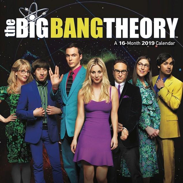 The Big Bang Theory Mini Wall Calendar, Comedy TV by Calendars