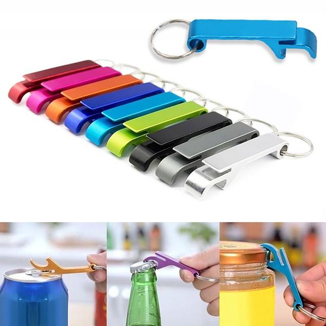 3Pcs Mini Pocket Keychain Beer Bottle Opener