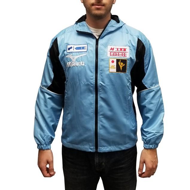 Yuri Katsuki Light Blue And Black Jacket