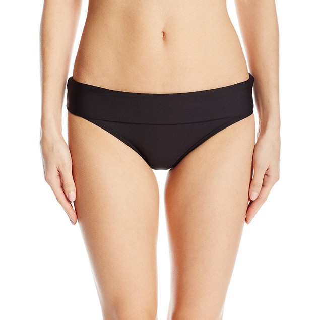Splendid Women's Stitch Solid Banded Bikini Bottom SIZE SMALL