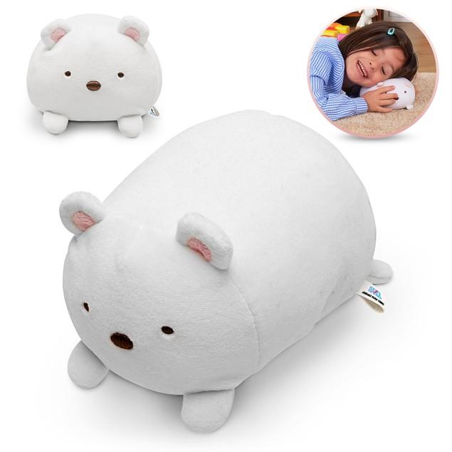 Plush Polar Bear Squishy Stuffed Toy   Super Soft, Smooth, Cuddly, Washable