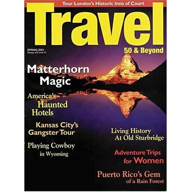 Travel 50 & Beyond Magazine Subscription