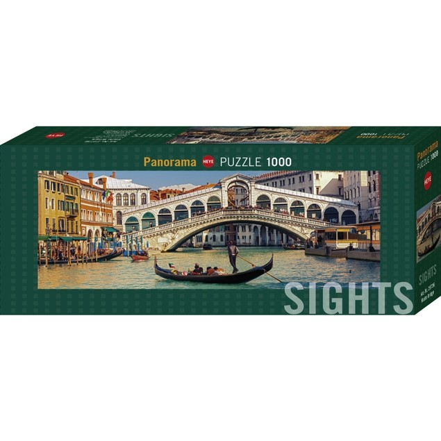 Sights Rialto Bridge 1000 Piece Puzzle, 1,000 Piece Puzzles by Autruche