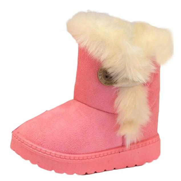 Fashion Winter Baby Girls Snow Boots