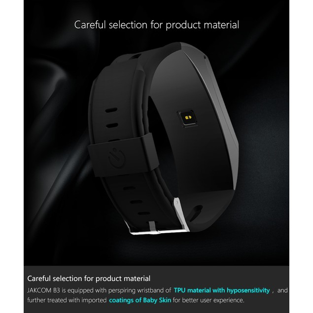 Jakcom B3 Smart Band Watch 2 in 1 Bluetooth Smart Bracelet