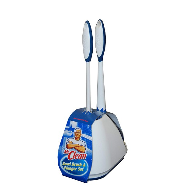 Turbo Plunger and Bowl Brush Caddy Set