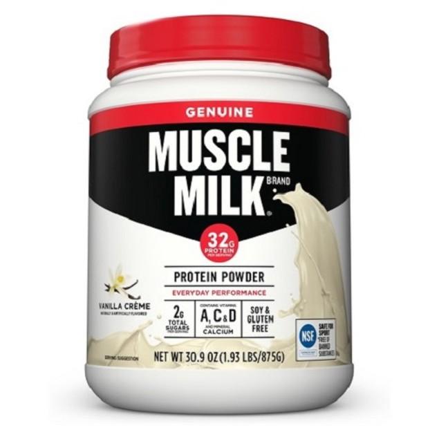 Muscle Milk Vanilla Creme Protein Powder
