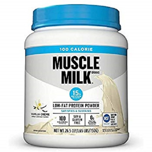 Muscle Milk Vanilla Creme Low-Fat Protein Powder