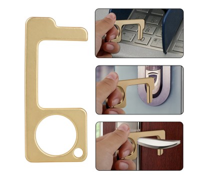4Pcs EDC Non-Contact Door Opener Anti-Epidemic Touch Was: $15.99 Now: $9.99.