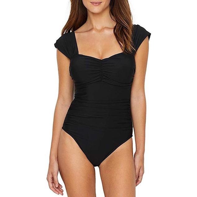 Magicsuit Women's Magic Solids Natalie One Piece Swimsuit Black 14