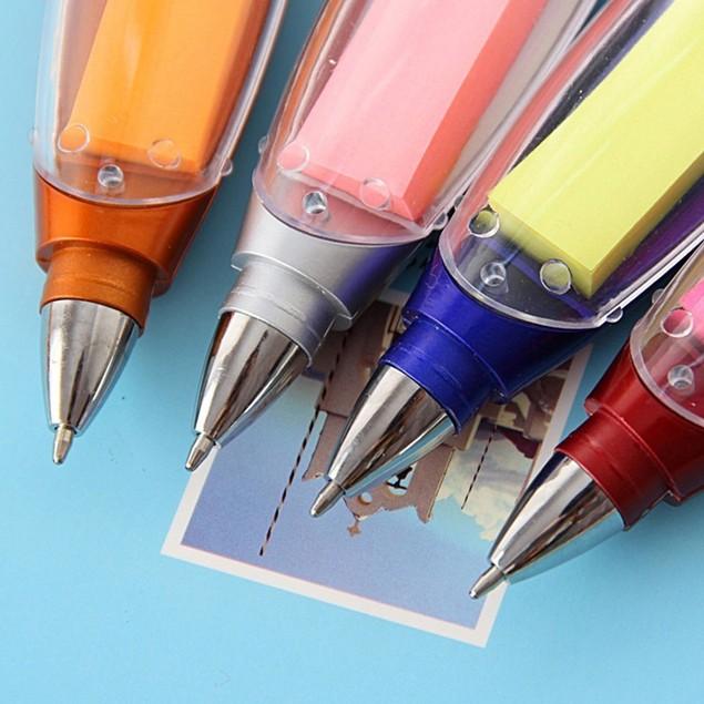 Multifunctional Stationery Ballpoint Lanyard Notes LED Light Pen Supplies