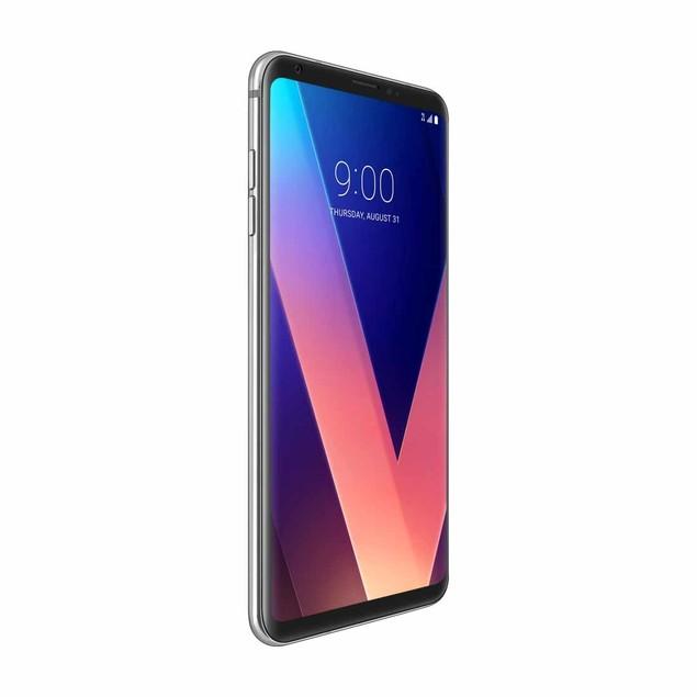 LG V30 64GB H932 T-Mobile 4GB RAM Smartphone - Cloud Silver