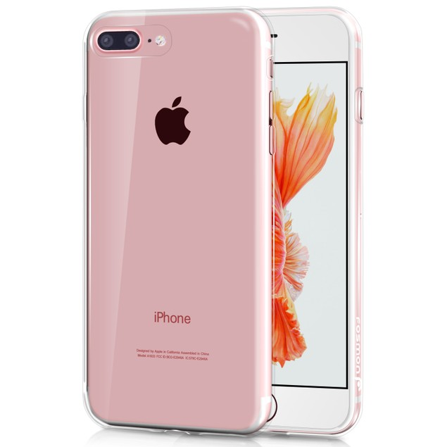 iPhone Clear Ultra Thin TPU Gel Case Crystal Transparent Cover