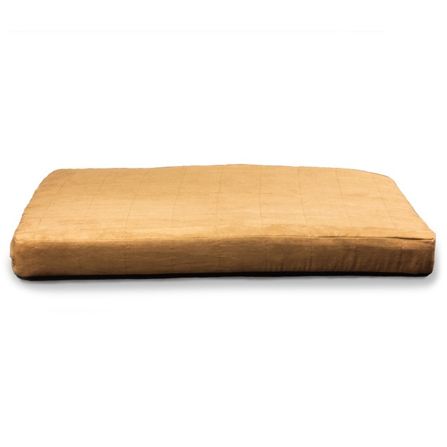 Quilted Suede Orthopedic Pet Mattress