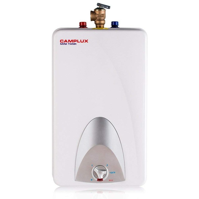 Camplux 4-Gallon Mini Tank Electric Water Heater