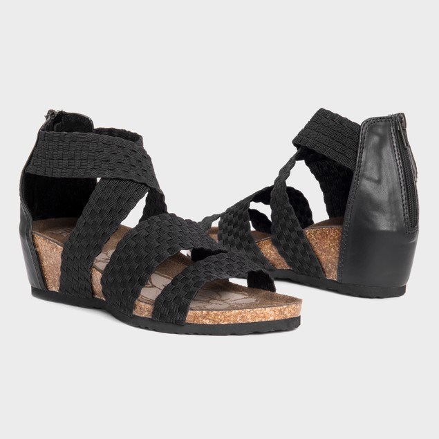 MUK LUKS Women's Elle Wedge Sandals