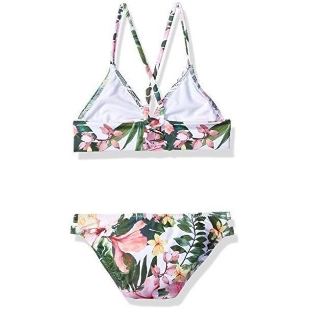 Seafolly Big Girls' Tropical Trikini 2 Piece Set  Multi, (AUS 8)