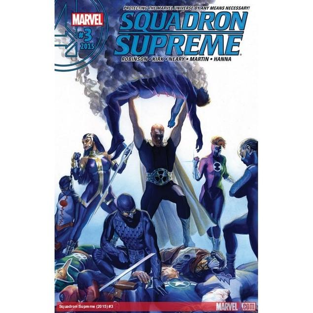 Squadron Supreme Magazine Subscription