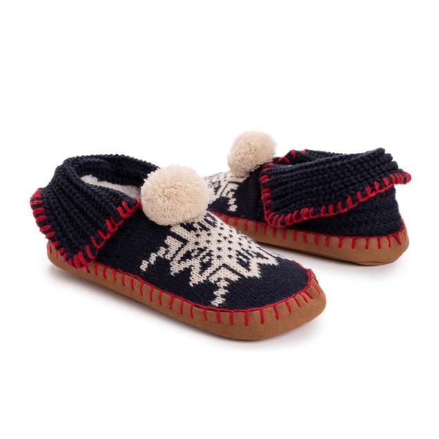 MUK LUKS Women's Knit Moccasin